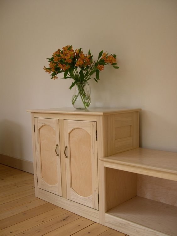 Entryway Benches And Cabinets On Pinterest