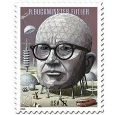 Buckminster Fuller. Instructor at Black Mountain College.