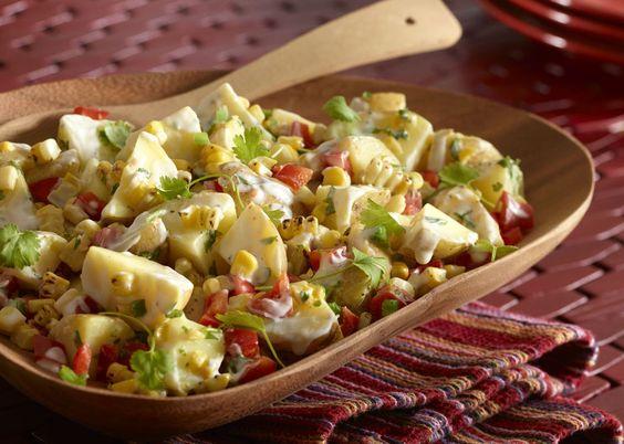 Corn potatosalad