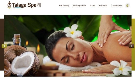 One of our value creations for our client Talaga Spa. Visit our portfolio - http://www.blueappleonline.com/portfolio/