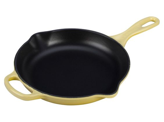 "Signature 10 1/4"" Iron Handle Skillet #lecreuset"