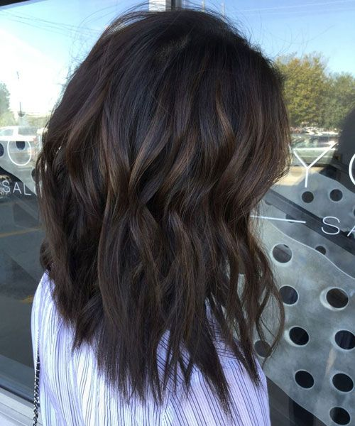 Top Balayage For Dark Hair Black And Dark Brown Hair Balayage Color 2020 Guide Dark Brown Hair Balayage Hair Styles Brown Hair Balayage