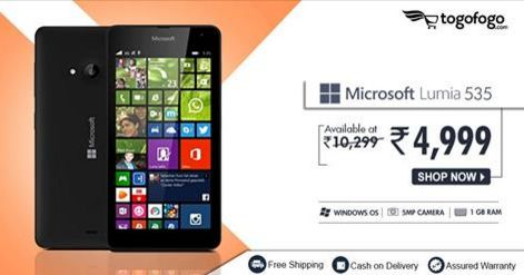 Do more with the #Microsoft #Lumia535 Hurry! Offer valid till stocks last. SHOP NOW: http://bit.ly/2db2c6U