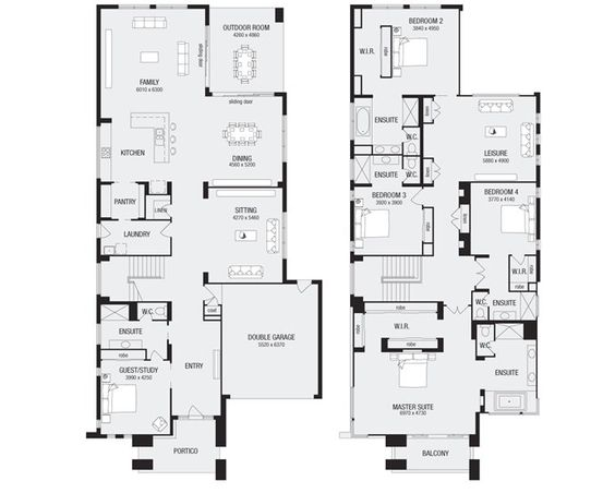 Lindrum 58, New Home Floor Plans, Interactive House Plans