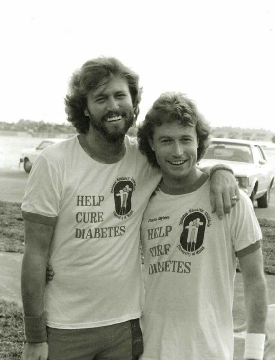Cuties-Barry & Andy Gibb.