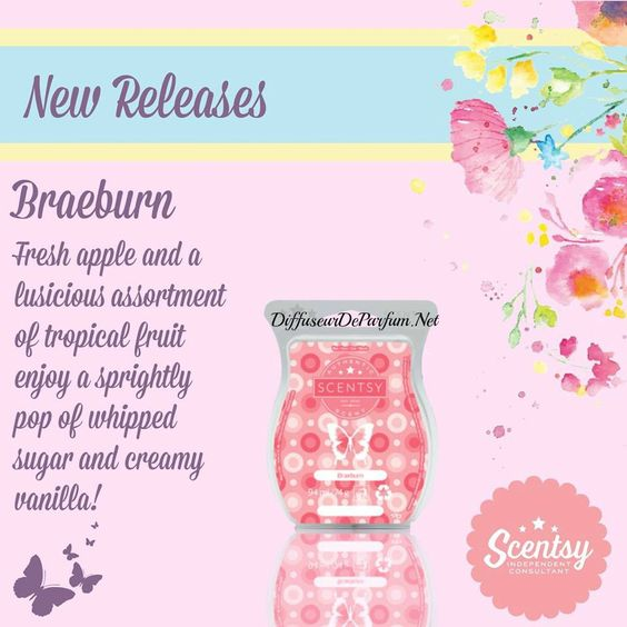 #Scentdescription Of Braeburn Scentsy bar  #ScentsyEurope #ScentsyUK #ScentsyFrance #ScentsyBars #Waxmelts #CandlesAddicts #ScentsyIreland #ScentedCandles