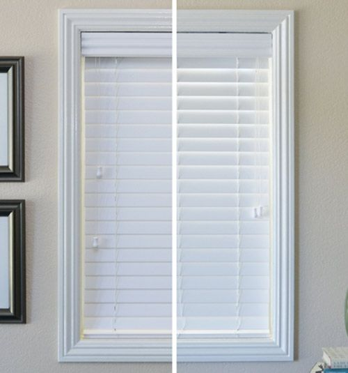 2 1 2 Smooth Faux Wood Blinds Vs 2 Inch Faux Wood Blinds Faux Wood Blinds White Faux Wood Blinds Wood Blinds