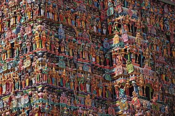 The Temples of Madurai, India