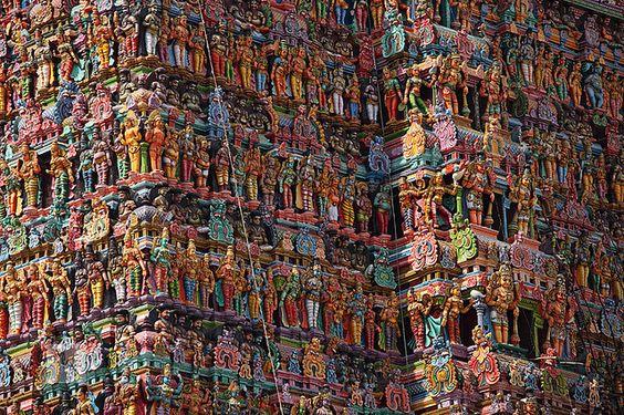 The Temples of Madurai, India
