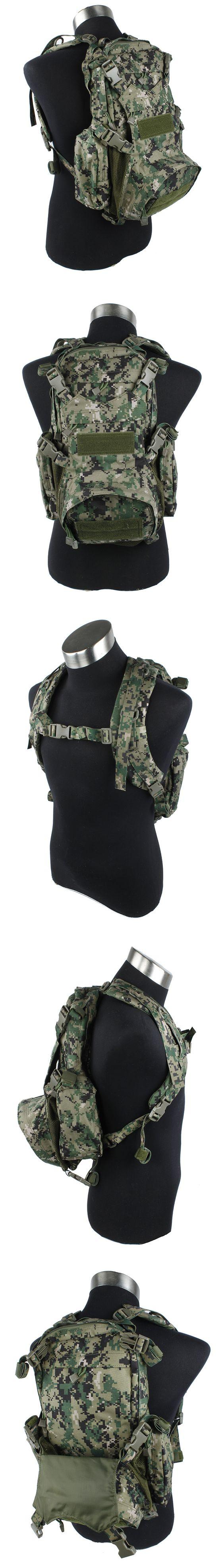 EbairSoft Airsoft parts & Tactical Gear - G TMC MOLLE Kangaroo Pack ( AOR2 ) TMC1461