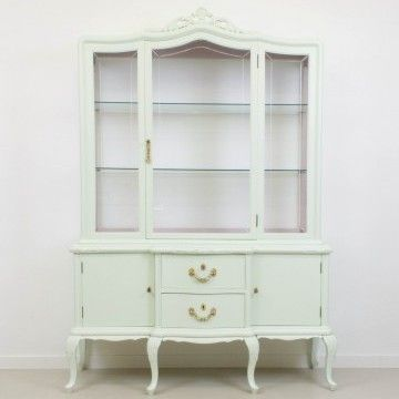 Vitrina Elisenda en verde y rosa | Otros | Muebles