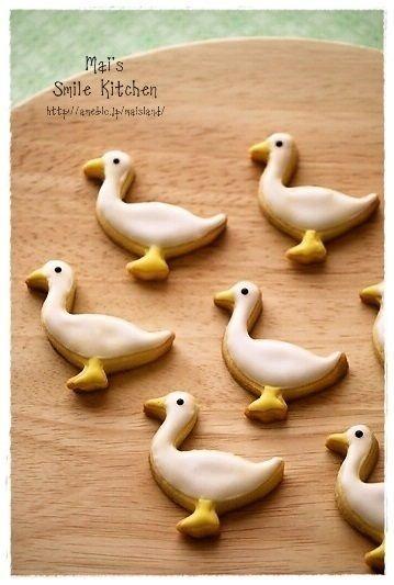 Sweets* アイシングクッキー |Mai's スマイル*キッチン|Ameba (アメーバ) - duck cookies