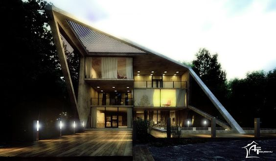 The house in the forest ~ DesignDaily