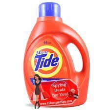 Tide Liquid, 19-32 Loads $5.49 Dawn Dish Liquid, 9oz $0.99 $5/3Tide/Downy/Bouncetide detergents, tide boost, tide to go, tide washing machine cleaner, downy or bounce excludes tide detergent 10 oz, downy single rinse, tide simply clean & fresh...