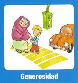 Generosidad Dibujos De Los Valores Educacion De Valores Imagenes De Los Valores