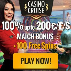 Use our Casino Cruise bonus codes for an incredible new player offer and play the latest games online.