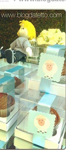Caixa p cupcake de lembranca