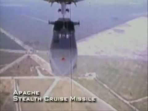 Apache French stealth cruise missile used against runways or armored formations.