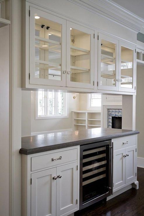 See Through Kitchen Cabinet Glass Kitchen Cabinets Bungalow Kitchen Kitchen Remodel