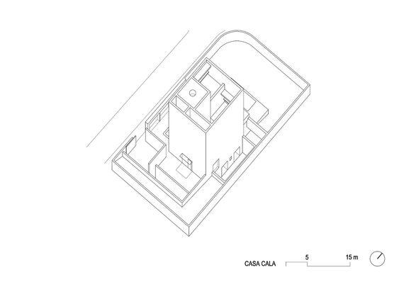 Casa Raumplan,Axonometrica 2