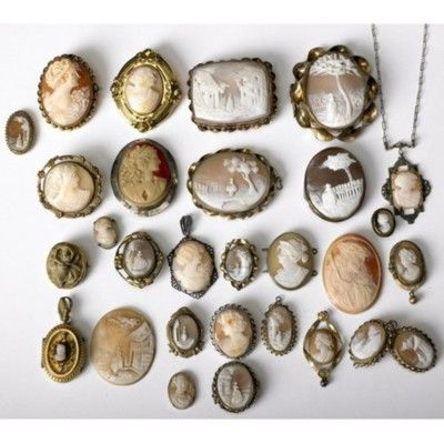 Protect and display your collection of cameos! These would make an eyecatching display in a Nimbus case or a shadow box.