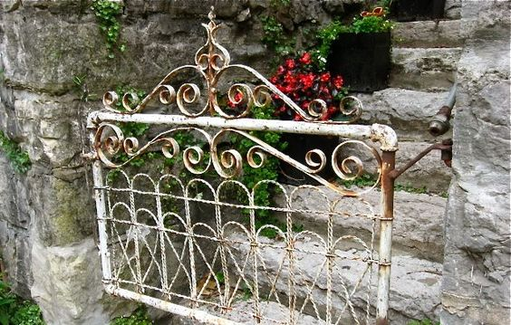 to have a great gate leading to my garden.