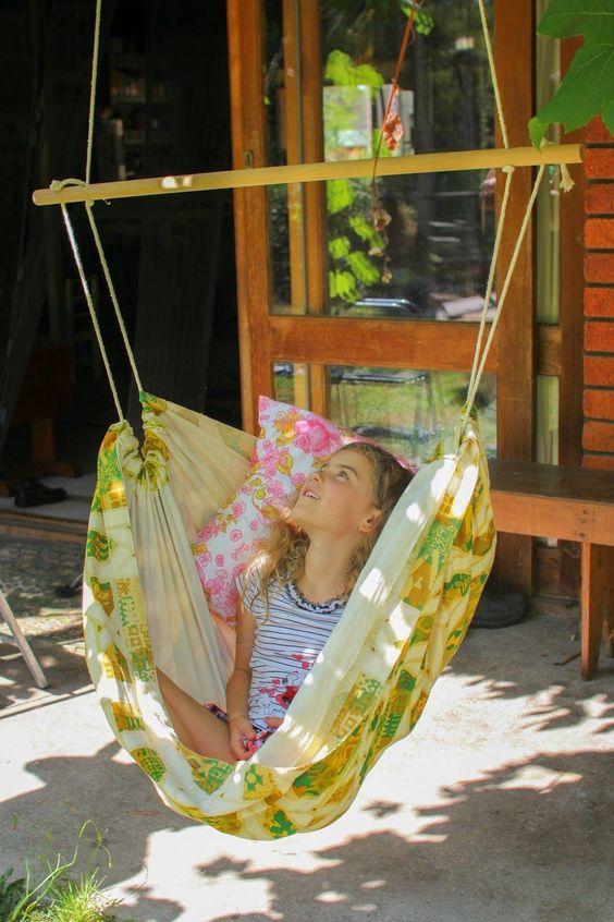 how to make a homemade swing