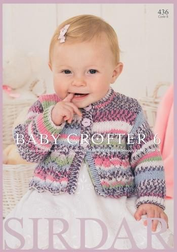 Sirdar Knitting Pattern Book 436 - Baby Crofter 6 Preview