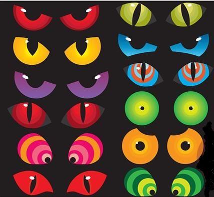 Eyes Halloween And Clip Art On Pinterest