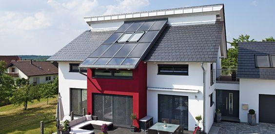 Photovoltaik Anlage ohne noetige Dachziegel  Sunroof Photovoltaik - Roto Dach- und Solartechnologie