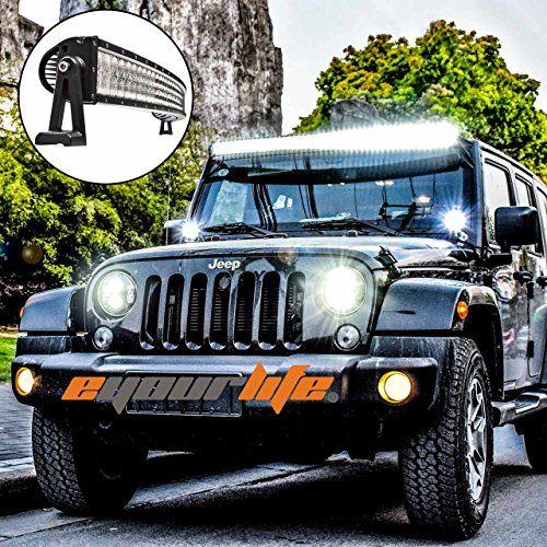 Jeep Wrangler Jk Light Bar And Jeep Off Road Lights Jk Jeep Lightbars Bar Lighting Jeep Jeep Wrangler Light Bar