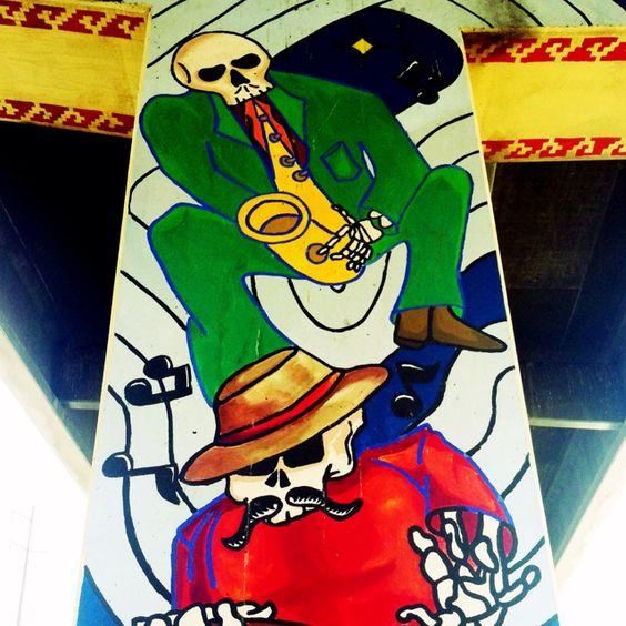 Dia de los muertos day of the dead lincoln park murals el for Dia de los muertos mural