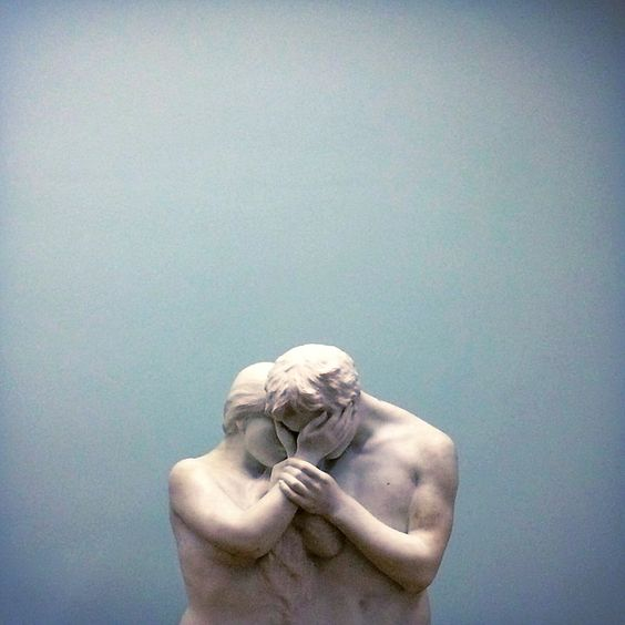 "F&O; Fabforgottennobility - zzzze:   Auguste Rodin, ""Lovers"""