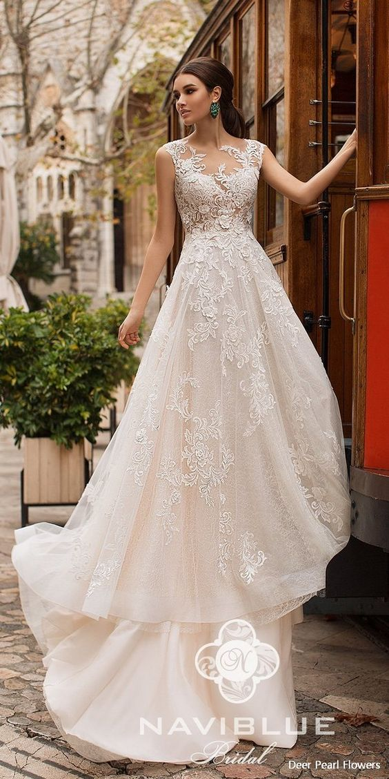 "2 Naviblue 2019 Wedding Dresses – ""Dolly"" Collection"