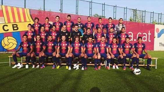 FC Barcelona official photo