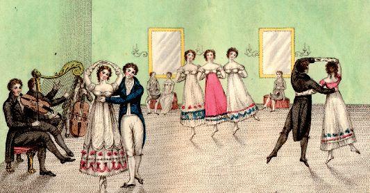 A Regency dance: