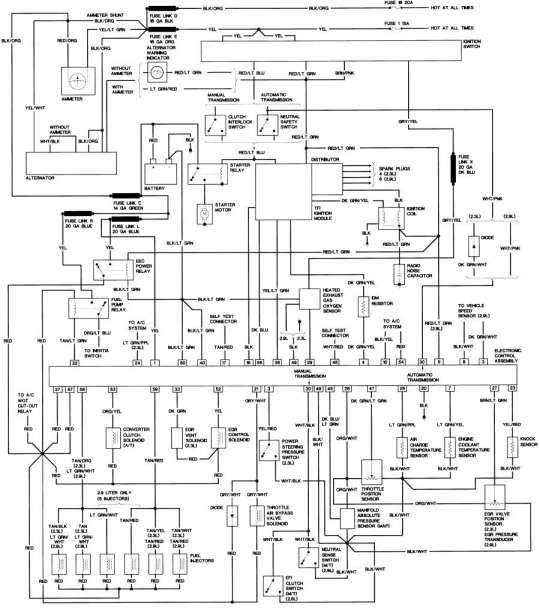 16 1986 Ford Ranger Engine Wiring Diagram Engine Diagram Wiringg Net Ford Ranger Repair Guide Ford Truck