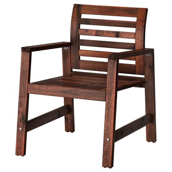 ÄPPLARÖ Cadeira c/braços - IKEA