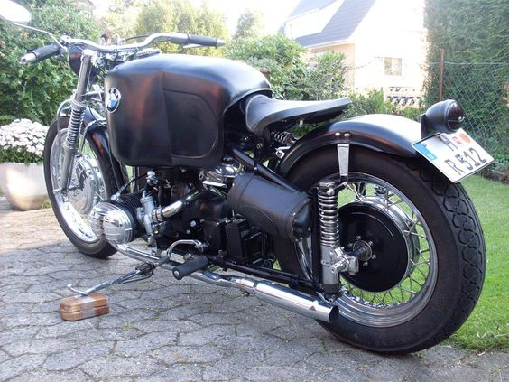 beautifull, powerfull,...  BMW R51/3 Bobber