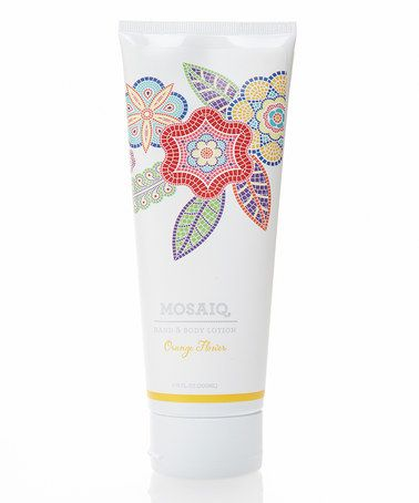 Another great find on #zulily! 6.75-Oz. Orange Flower Hand & Body Lotion #zulilyfinds