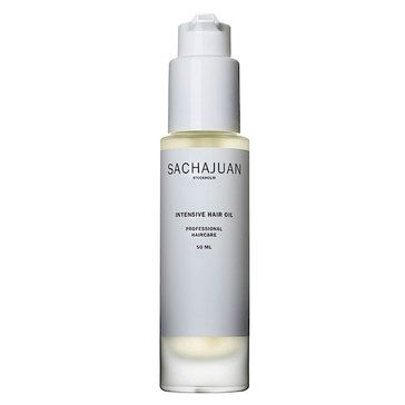 SAVE YOUR HAIR!!  SachaJuan Intensive Hair Oil repairs locks while gifting them with extreme shine! Contains Argan and Sea Buckthorn oil.