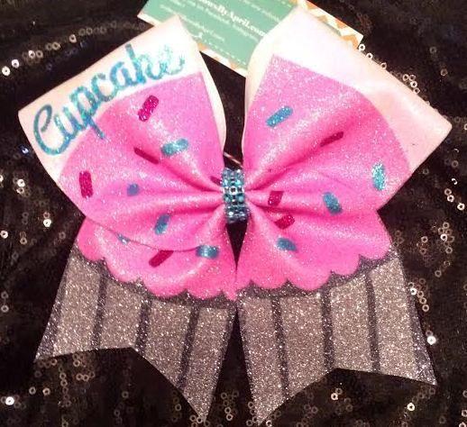 hipgirl winter cheer bow ribbon