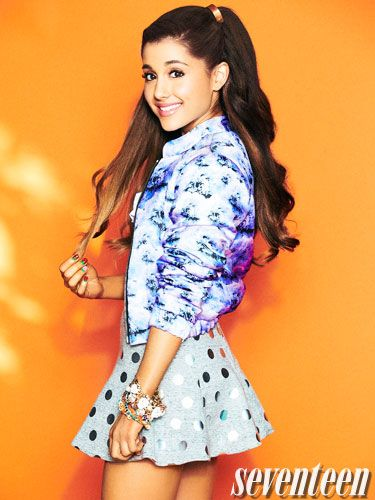 Ariana Grande's cover shoot!