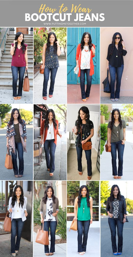 I've been telling you for 3 years these bootcut jeans might as well be YOGA PANTS! Today I'm showing you how to style them by rounding up 12 of my outfits with bootcut jeans! I'll also share some tips for how to wear bootcut jeans along with a few other bootcut jeans options in case these don't work out for you.