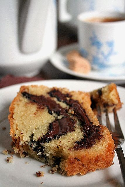 Nutella Swirl Pound Cake by Le Petrin, via Flickr