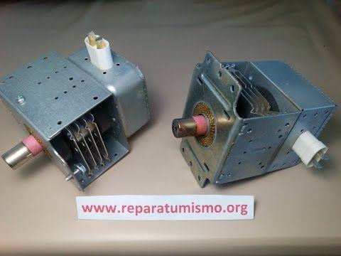 4 Comprobacion Magnetron Horno Microondas Averias Tipicas Youtube Electricidad Y Electronica Componentes Electronicos Horno Microondas