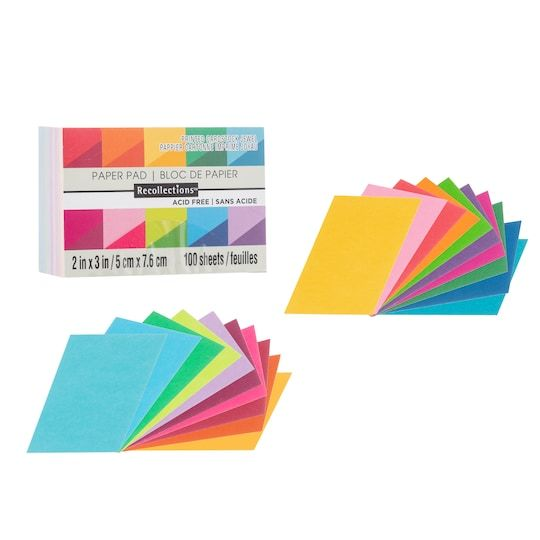 Jewel 2 X 3 Cardstock Paper By Recollections 100 Sheets Card Stock Gems Stickers Cardstock Paper