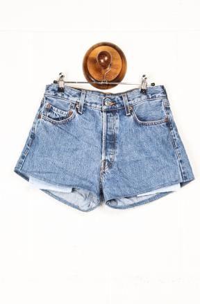 Levi's Reworked Denim Shorts £20   www.wearecow.com