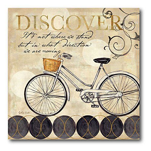 Free Printable Floral Bicycle Wall Art