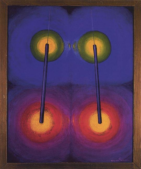 Walter Russell. Nature's Bar Magnet of Light. 1960.